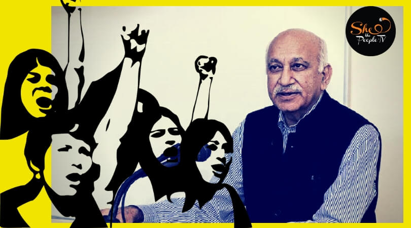 #MeToo journalist defends MJ Akbar