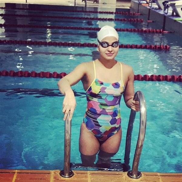 Swimmer Richa Mishra