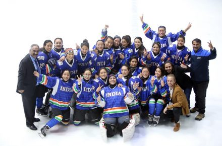 Indian women's ice hockey team