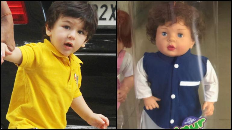 Taimur-inspired Doll