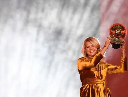 Ada Hegerberg Female Ballon d'Or