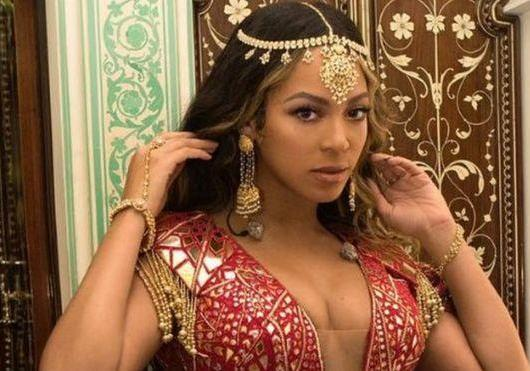 Beyoncé Indian Attire