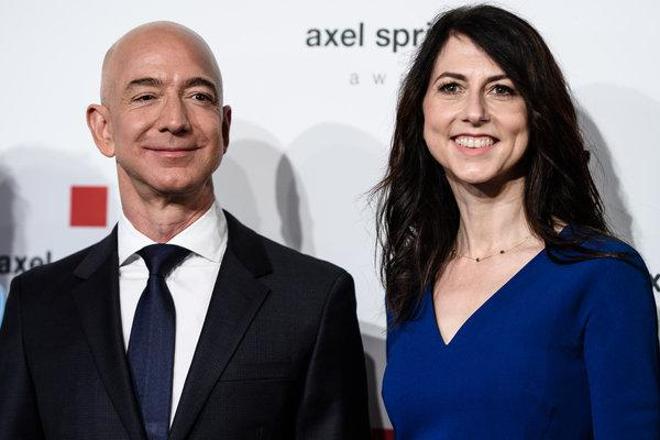 Amazon Founder divorcing