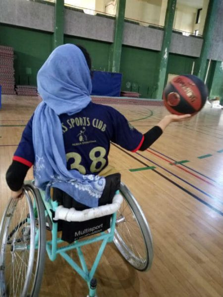 Insha Bashir, Kashmir's First Woman Wheelchair-Bound Basketball Player