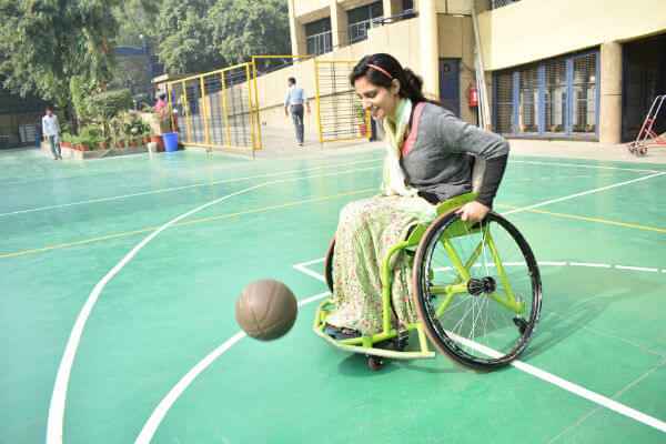 Insha Bashir, Wheelchair-Bound Basketball Player Kashmir