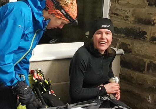Nursing Mother smashes Montane Spine Race Record