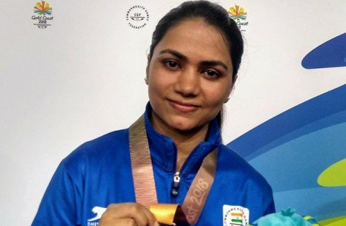 ISSF World Cup 2019 Apurvi Chandela