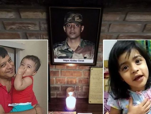 Martyred Soldier's child