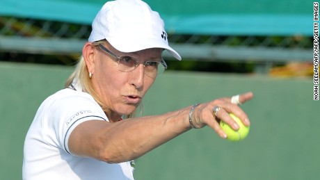 Trans Athletes Row Navratilova