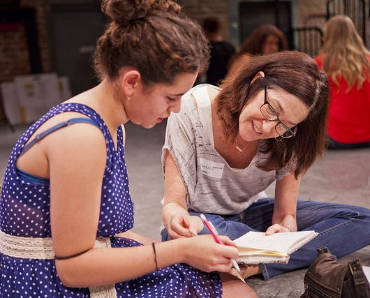 mentoring important young girls