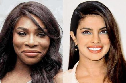 Serena Williams Joins Priyanka Chopra I