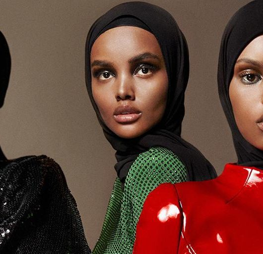 Vogue Arabia Makes History, Puts Three Black Hijabi Models on the Cover