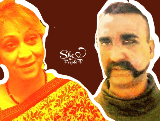 Wing Commander Abhinandan Mother