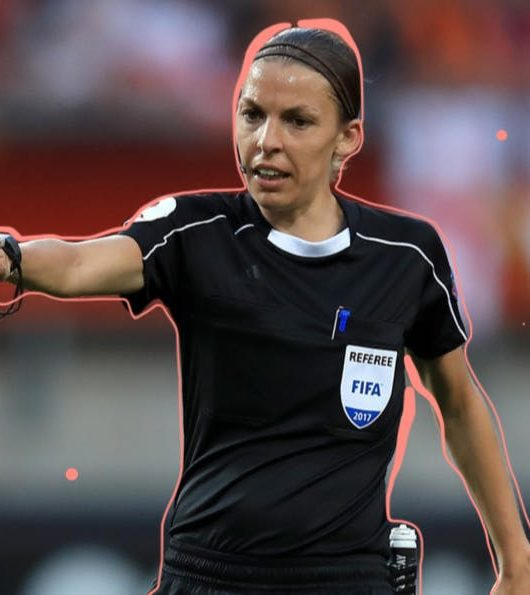 France female top football referee