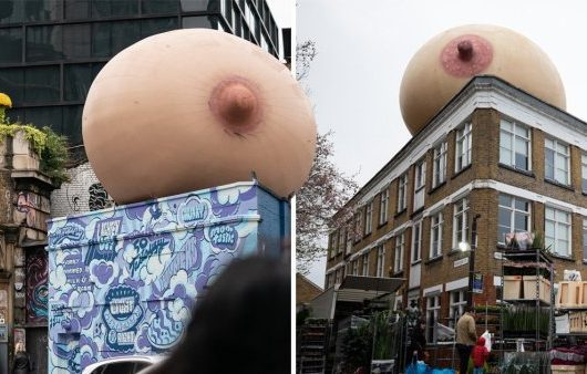London's Giant Boobs
