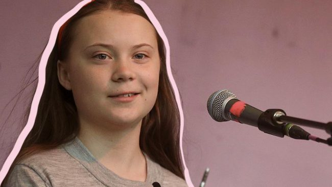 Greta Thunberg's speech