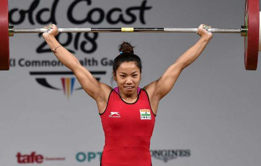 Mirabai Chanu Lifts 201 Kg