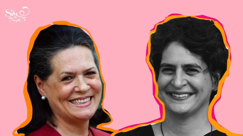Priyanka Gandhi Sonia Gandhi Mother Daughter
