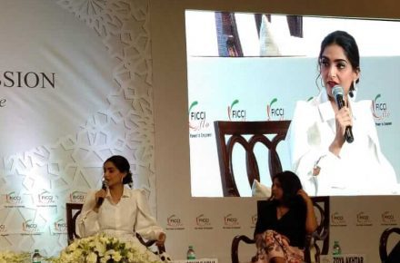 Sonam Kapoor Ahuja at Ficci Flo annual session