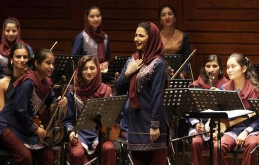 Afghan woman musicians