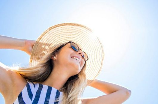 Beat the heat, benefits of sunlight