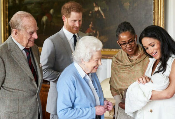 diverse britain meghan markle s mother appears in royal baby photo diverse britain meghan markle s mother