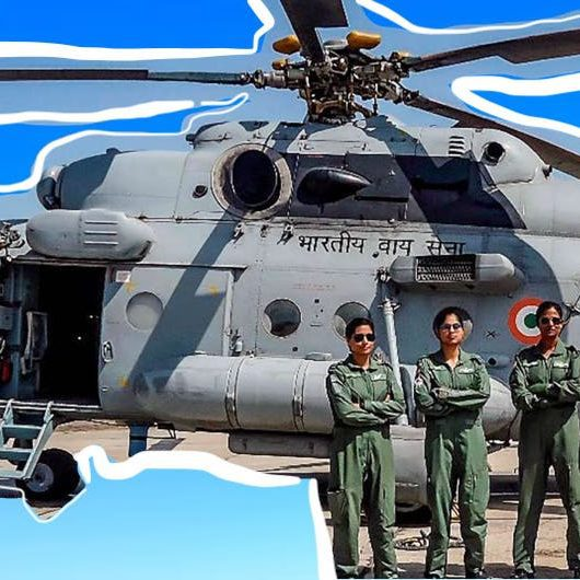 Women Crew Helicopter India