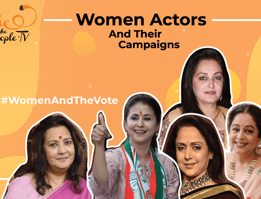 Indian Women Actor Politicians