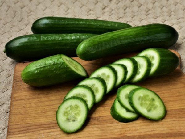Cucumbers, summer coolers
