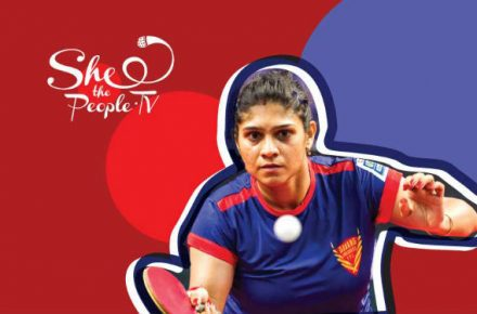 Madhurika Patkar is an Indian table-tennis player