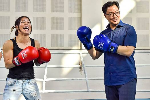 Mary Kom Vs Kiren Rijiju