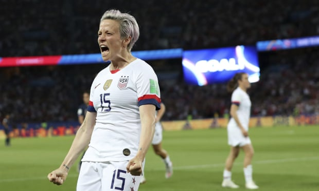 Megan Rapinoe inequality, US Women Soccer Team, US team sport return