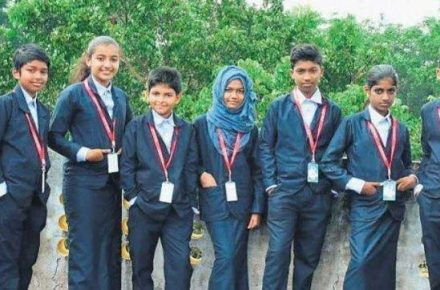 Kerala High Schools Students