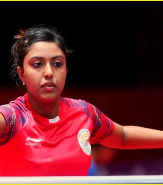 Ayhika Mukherjee Win Singles Gold At Commonwealth Table Tennis