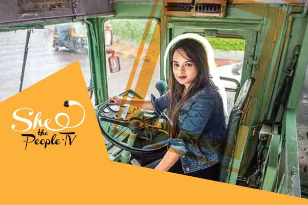 Mumbai's First Female Bus Driver