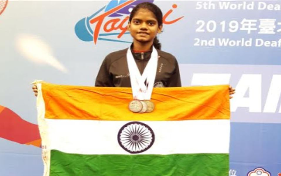 Tamil Nadu Girl Wins Gold In World Deaf Youth Badminton