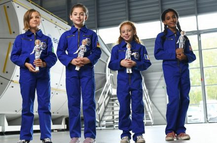 Astronaut Barbie Women STEM