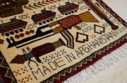 Afghan Women Rugs War