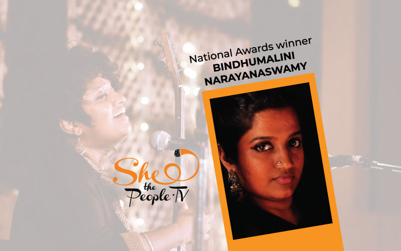National Award Singer Bindhumalini