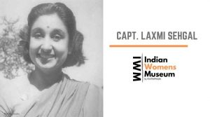 Capt Laksmi Sehgal Indian Female Freedom Fighters