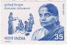 Durgabai Deshmukh, Freedom Fighters on Stamps