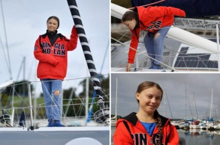Greta Thunberg Sails To US On Boat With No Toilet To Avoid Flying
