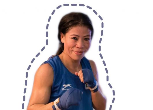 Mary Kom India's admired woman