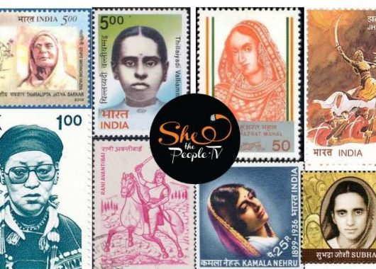 Indian freedom fighters stamps