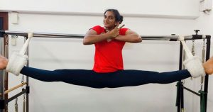 Workout From Home: PV Sindhu