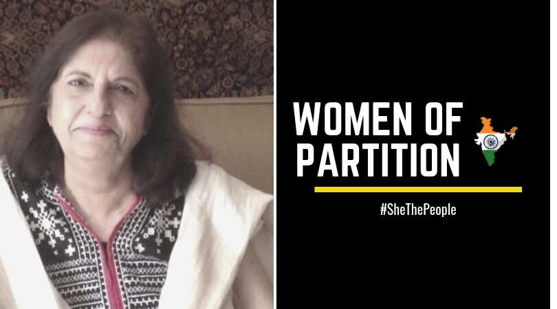 Sabita Chugtani WOMEN OF PARTITION talk of Indian Independence