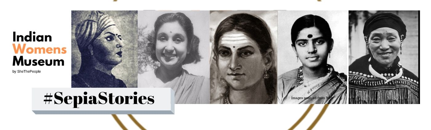 Sepia Stories on SheThePeople, Indian Women's History
