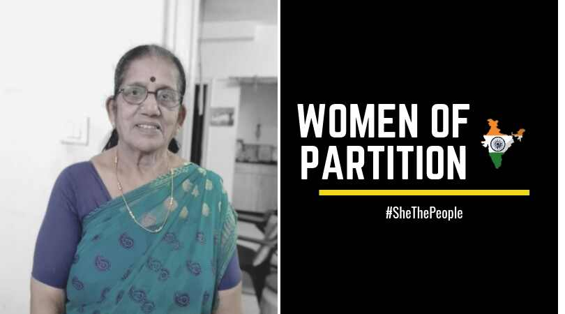Shanta Narain Women of Partition talk of Indian Independence