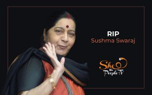 sushma swaraj gender equality