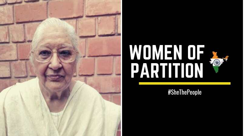 Kaushalya Women of Partition talk of Indian Independence